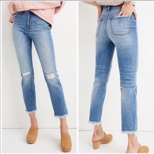 Madewell The Perfect Vintage Jean Raw Hem